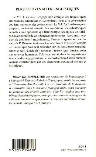 4eme Perspectives alterlinguistiques Volume 2