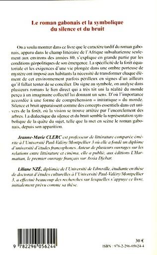 4eme Le roman gabonais et la symbolique du silence et du bruit