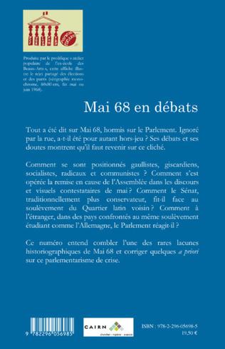 4eme Mai 68 en débats