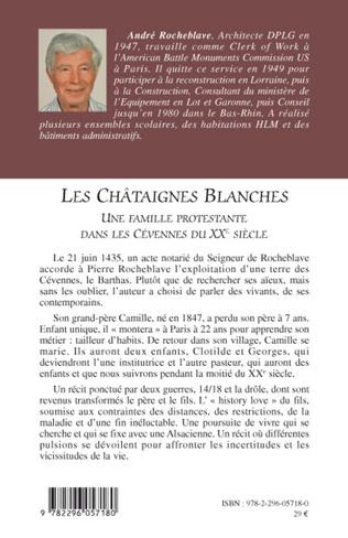 4eme Les Châtaignes Blanches