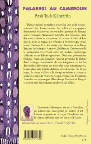 4eme Palabres au Cameroun