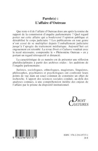 4eme Parole(s) : L'affaire d'Outreau