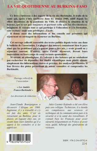 4eme La vie quotidienne au Burkina-Faso