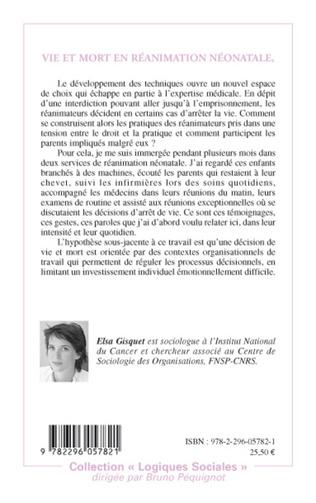 4eme Vie et mort en réanimation néonatale