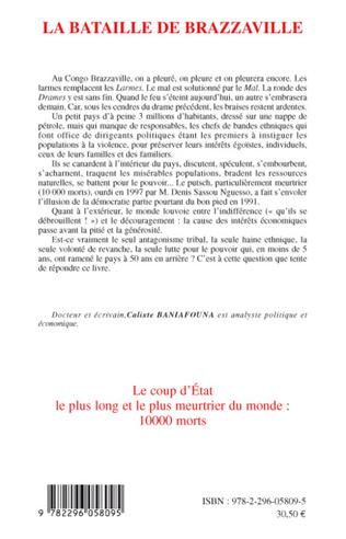 4eme La bataille de Brazzaville 5 juin - 15 octobre 1997