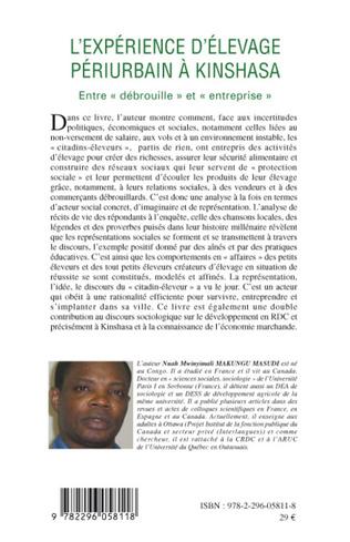 4eme L'expérience d'élevage périurbain à Kinshasa