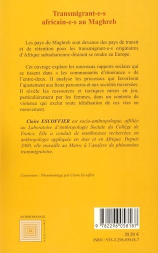 4eme Transmigrant(e)s africain(e)s au Maghreb