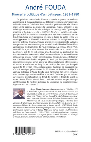 4eme André FOUDA