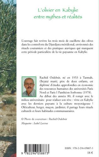 4eme L'olivier en Kabylie entre mythes et réalités