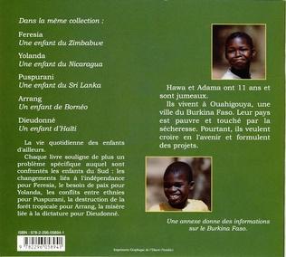 4eme Hawa et Adama des enfants du Burkina Faso
