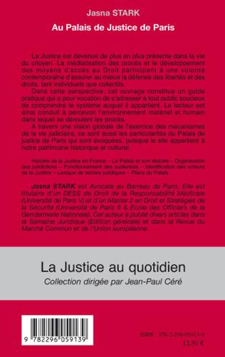 4eme Au Palais de Justice de Paris