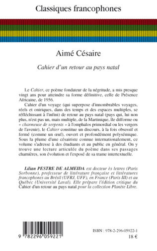 4eme Aimé Césaire