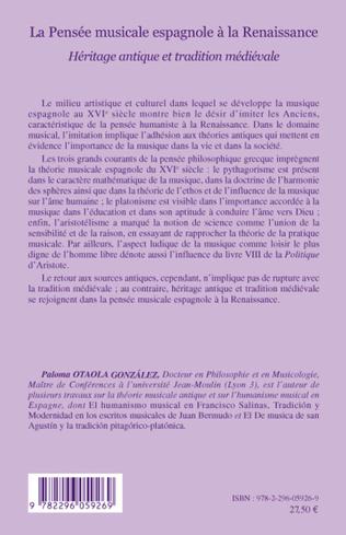 4eme La Pensée musicale espagnole à la Renaissance