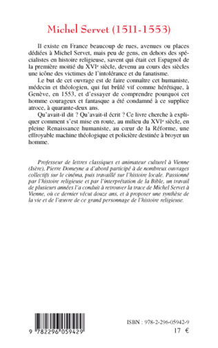 4eme Michel Servet (1511-1553)