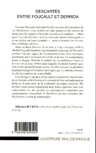 4eme Descartes entre Foucault et Derrida