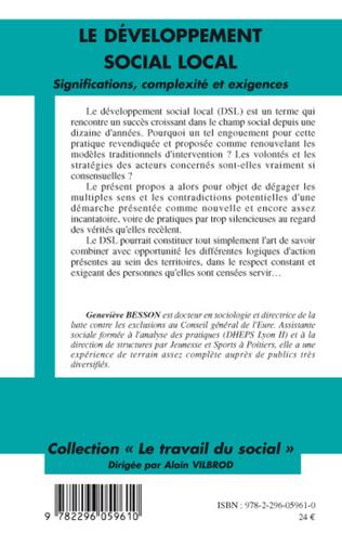 4eme Le développement social local
