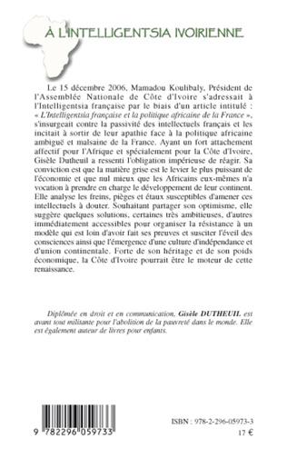 4eme A l'intelligentsia ivoirienne