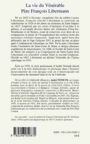 4eme Vie du Vénérable Père François Libermann