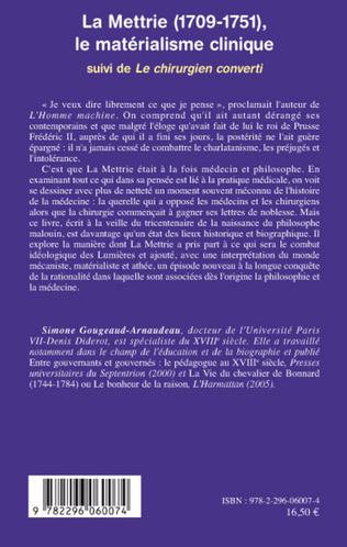 4eme La Mettrie (1709-1751)