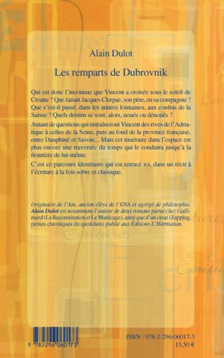 4eme Les remparts de Dubrovnik
