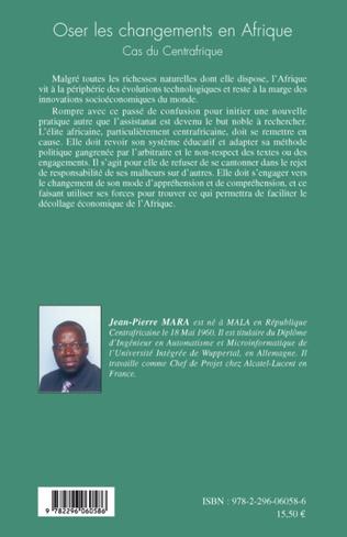 4eme Oser les changements en Afrique