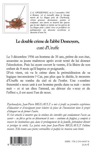 4eme Le double crime de l'abbé Desnoyers, curé d'Uruffe