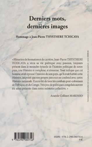 4eme Derniers mots, dernières images