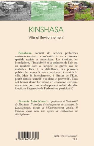 4eme Kinshasa, ville et environnement