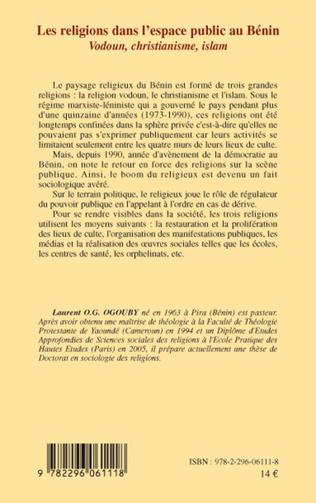 4eme Les religions dans l'espace public au Bénin