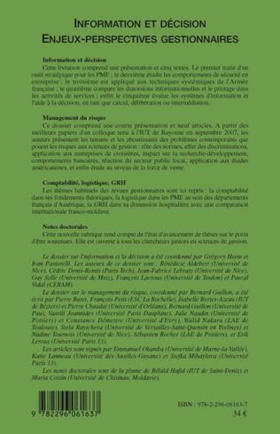 4eme Information et décision
