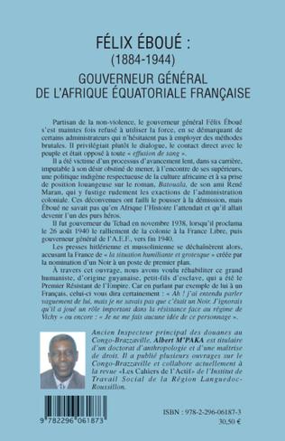 4eme Félix Eboué 1884-1944