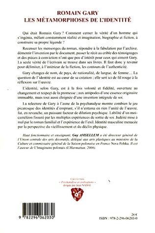 4eme Romain Gary