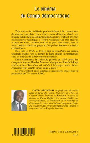 4eme Le cinéma du Congo démocratique