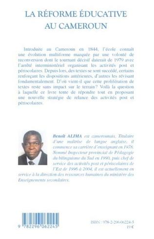 4eme La réforme éducative au Cameroun