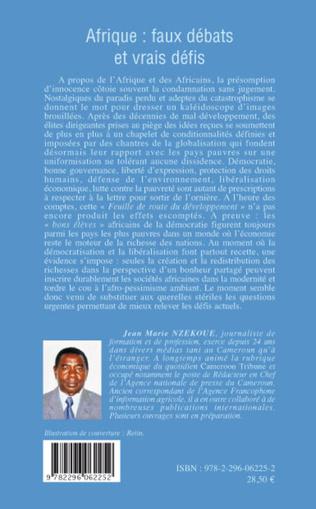 4eme Afrique faux débats et vrais défis