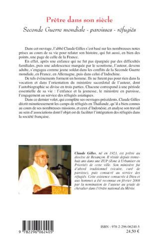 4eme Prêtre dans son siècle