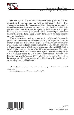 4eme Le chant des mollahs : la République islamique et la société iranienne