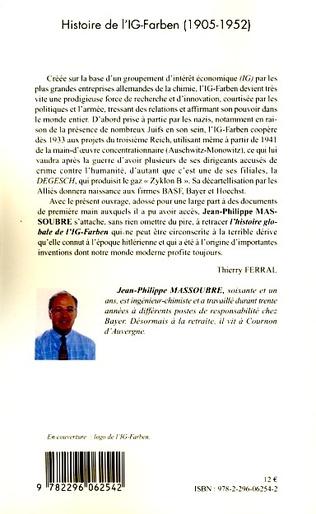 4eme HISTOIRE DE L'IG-FARBEN 1905-1952