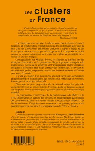 4eme Les clusters en France
