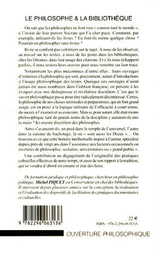 4eme Le philosophe et la bibliothèque