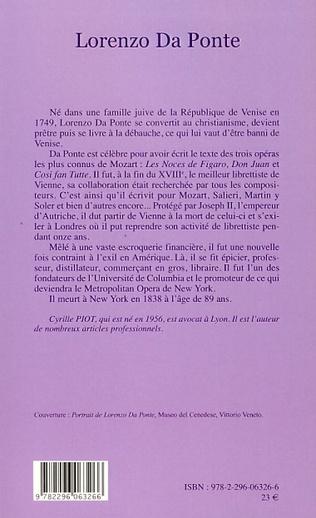 4eme Lorenzo Da Ponte