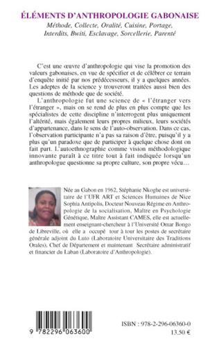 4eme Eléments d'anthropologie gabonaise
