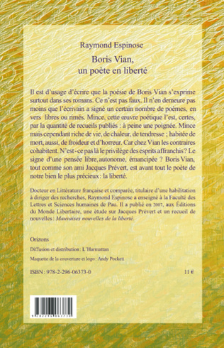 4eme Boris Vian, un poète en liberté