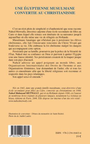 4eme Une égyptienne musulmane convertie au christianisme