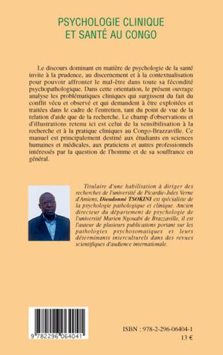 4eme Psychologie clinique et santé au Congo