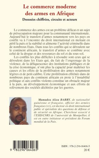 4eme Le commerce moderne des armes en Afrique