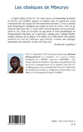 4eme Les obsèques de Mbeuryo