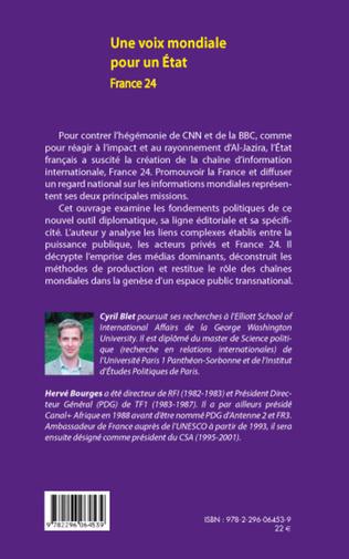 4eme Une voix mondiale pour un Etat : France 24