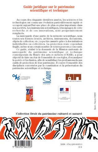 4eme Guide juridique sur le patrimoine scientifique et technique