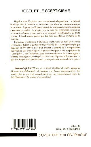 4eme Hegel et le scepticisme